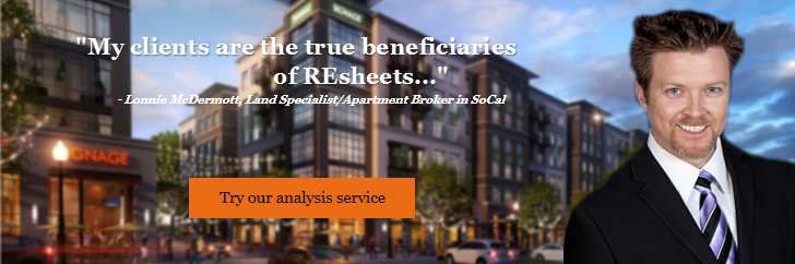 commercial real estate analysis analysis banner