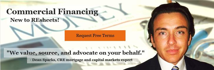 commercial real estate lending financing banner